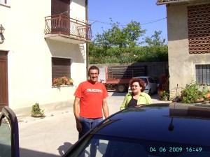 Bei Winzer Marco Destefanis zu Besuch